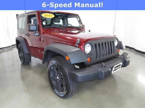 Pre-Owned 2010 Jeep Wrangler Sport