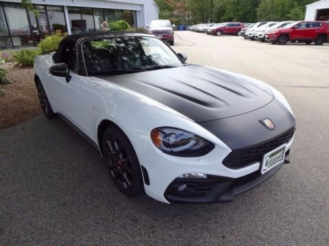 New 2017 FIAT 124 Spider Elaborazione Abarth